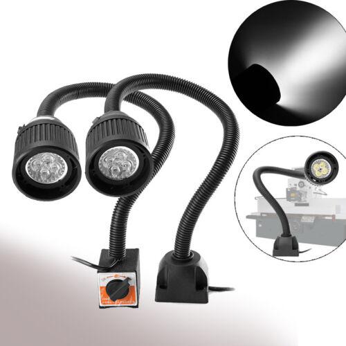 4W 500mm CNC Drehmaschine LED Arbeitsleuchte Magnetische Flexible Lampe 110-220V