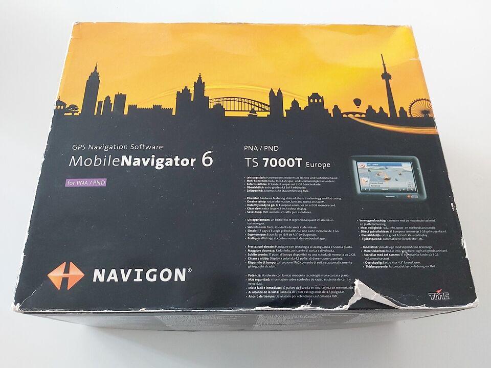 Navigation/GPS, Navigon PNA / PND TS 7000T