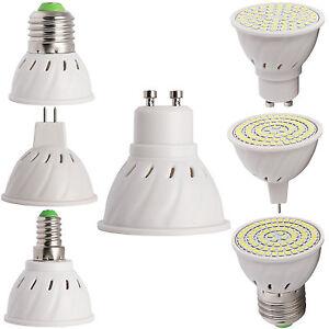 GU10-MR16-E27-Led-Eclairage-Spot-4W-5W-6W-Ampoule-2835-SMD-Lampe-Ultra-Lumineux