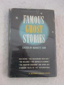 Bennett-Cerf-FAMOUS-GHOST-STORIES-The-Modern-Library-73-w-DJ