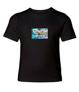 Sailor-Moon-Men-Women-Crew-Neck-Unisex-Short-Sleeve-Top-Tee-T-Shirt