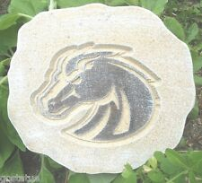 abs plastic mold  horse plaque decorative stepping stone mould