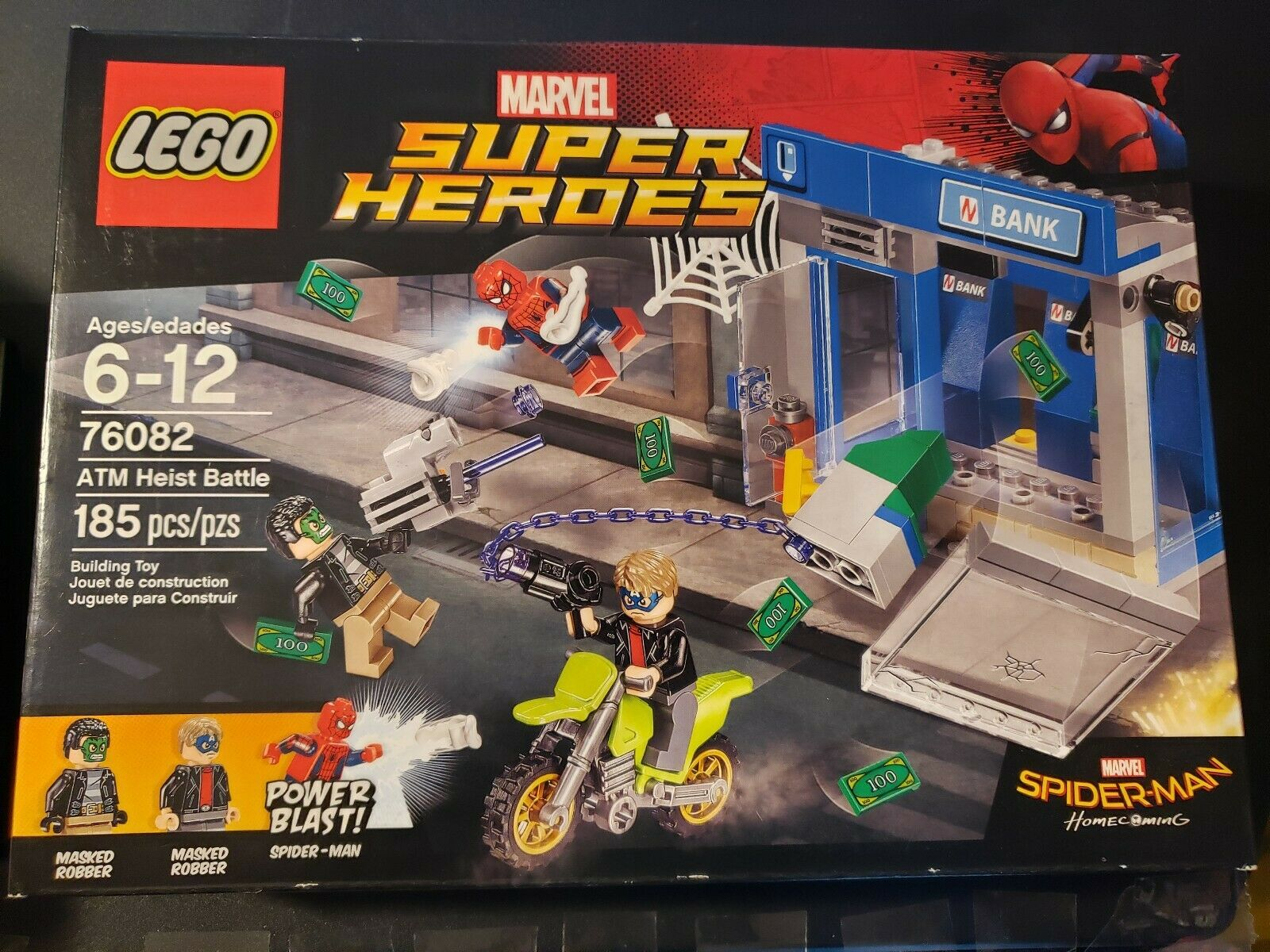 LEGO Super Heroes Heroes Heroes ATM Heist Battle 76082 Building Kit 507d32