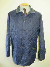"""Barbour Liddesdale Quilted jacket - L 42-44"""" Euro 52-54 in Blue"""
