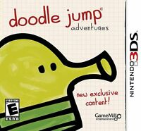 Nintendo 3ds Doodle Jumps Adventures Brand Video Game 2013