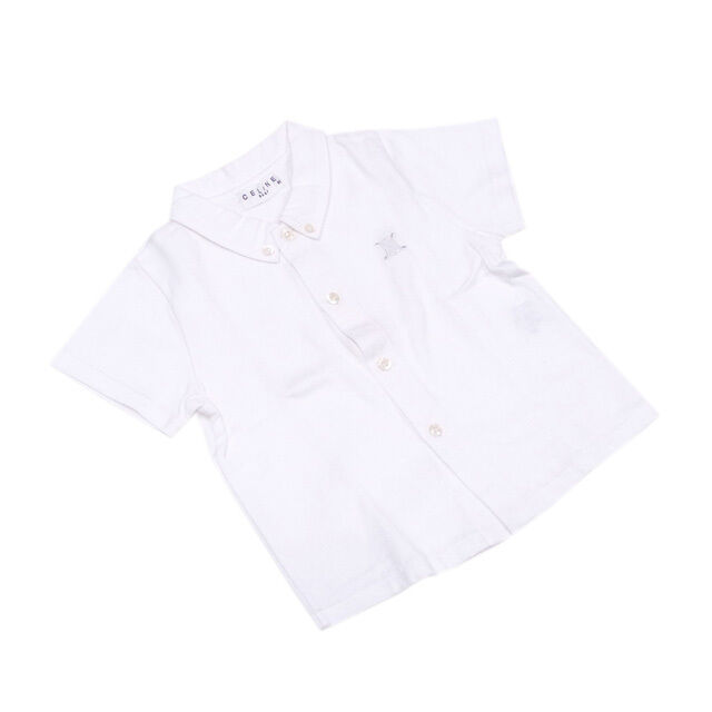 Celine Tops Blouses White Woman Authentic Used L1893