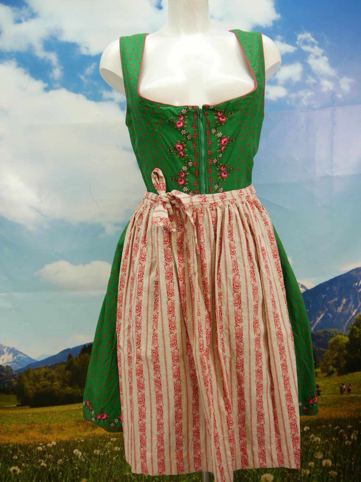 Salzbourg costumes Bonbons 60er Ans cousus gaie du avec tablier Größe 42