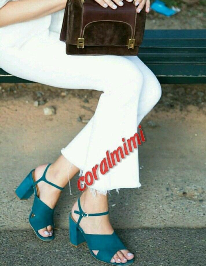 ZARA NEW REAL REAL REAL LEATHER PETROL Blau CROSSOVER SUEDE BLOCK HEEL SANDALS SIZE 5 22dd79