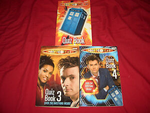 DOCTOR-WHO-QUIZ-BOOKS-QUIZ-BOOK-AND-3-AND-4-10TH-DOCTOR-THREE-BOOKS