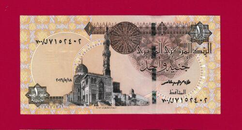 "RARE /""L-700/""// - - - 1 POUND 2016-2017 SCARCE EGYPT UNC REPLACEMENT BANKNOTE"