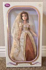 Disney Rapunzel Tangled Wedding Dress Bride Doll Limited Edition