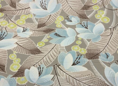 """P KAUFMANN AVERY SKY FLORAL UPHOLSTERY DRAPERY FABRIC BY THE YARD 54/"""" WIDE"""