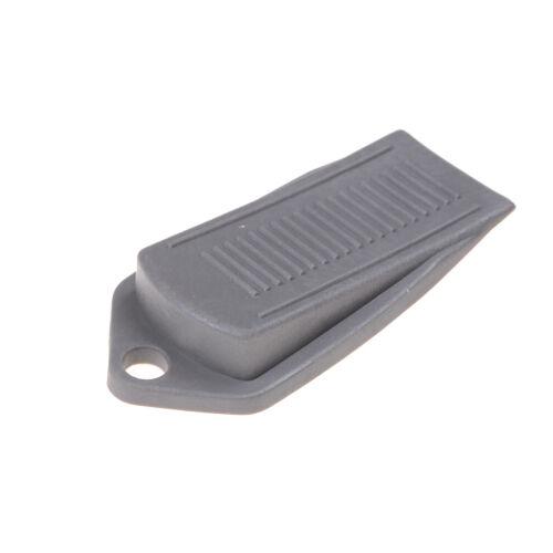 1pcs Tür-Keil-geformte Gummitür stoppt rutschfeste schwarze Gummitür-Puffer