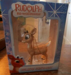 Rudolph-the-Red-Nosed-Reindeer-Ornament-in-Original-Box-No-Breaks-or-Chips