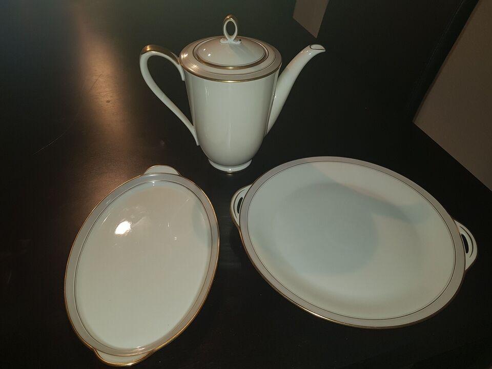 "Porcelæn, Kaffestel, Edelstein Bavaria ""Egelykke"""