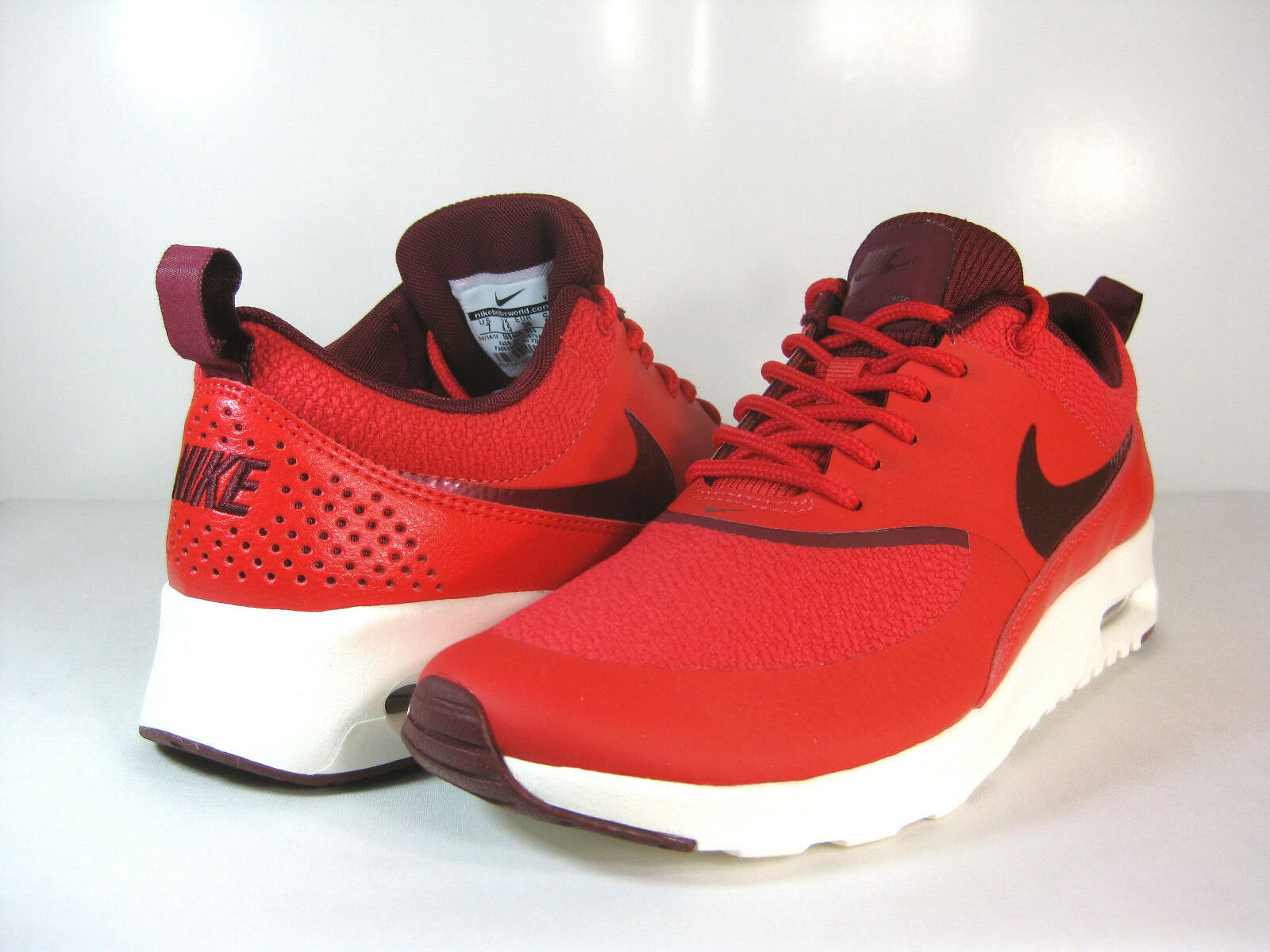 NIKE WMNS AIR MAX THEA Action Red Team Red-Sail -599409 603- ATHLETIC
