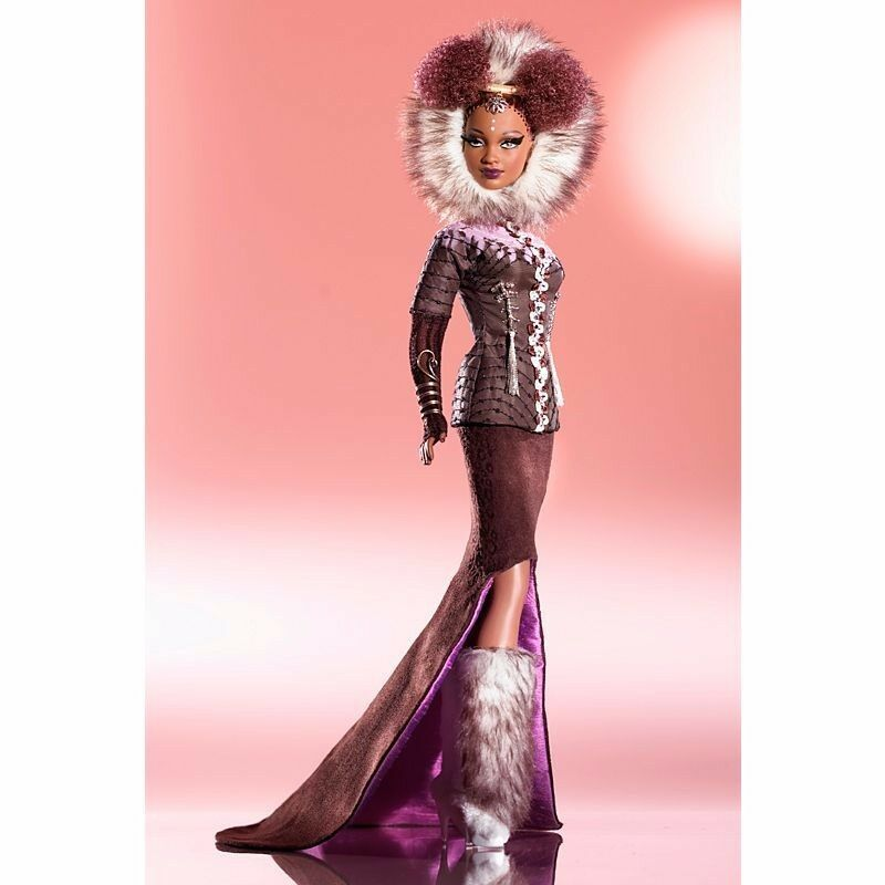 Byron Lars NNE oro Label Limited Edition Muñeca Barbie Coleccionable