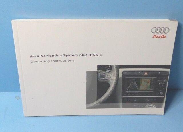 Nieuw RARE Audi Navigation System BNS 5.0 Owners Manual User Handbook IR-44