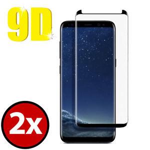 2x-9D-Verre-de-Protection-Samsung-Galaxy-S9-Plus-Film-Blinde-9H-Veritable