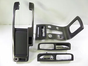 08-13 Volvo C30 R-Design Interior Trim Kit Oyster Burst *CLEAN* Carbon Effect OE