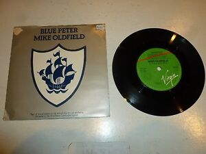 MIKE-OLDFIELD-Blue-Peter-1979-UK-7-034-injection-moulded-vinyl-single
