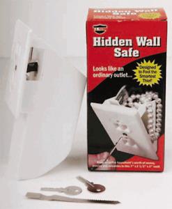 Hidden Wall Safe Security Electrical Outlet Vault Secret Hide Valuables