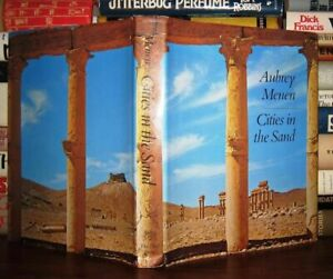 Menen, Aubrey CITIES IN THE SAND  1st Edition 1st Printing