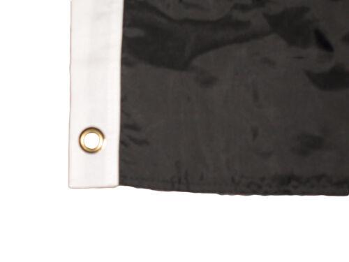 2x3 Embroidered POW MIA POW//MIA 300D Nylon Double Sided Flag 2/'x3/' Pin Clips