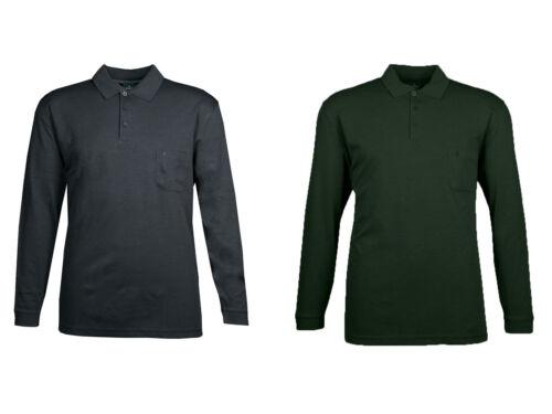 Ragman Herren Pullover Polo Shirt Softknit gepunktet 5490191