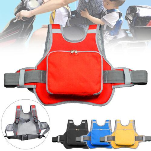 Motorcycle Bike Seat Safety Belt Strap Riding Reflective Protection For Kids UK