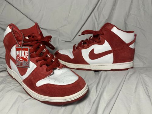 Nike Dunk High SB St. John's 20th Anniversary Sued