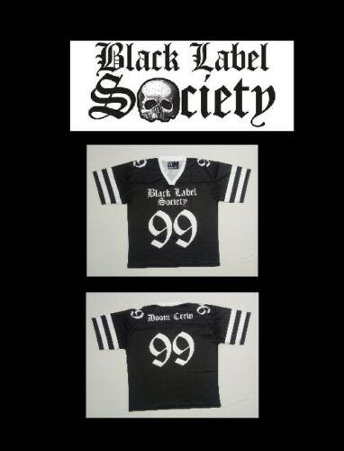 BLACK LABEL SOCIETY Football Jersey XL sz 52 1X shirt bls zakk wylde