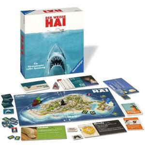 RAVENSBURGER-Strategiespiel-Der-Weisse-Hai-Taktikspiel-Erwachsenenspiel-ab-12
