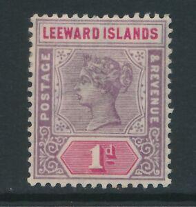 LEEWARD-ISLANDS-1890-1d-fine-light-MM-cat-8-5