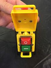 KJD18 interruptor de seguridad de arranque/parada 4 terminales para máquinas de 240v