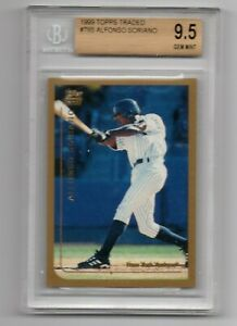 1999-Topps-Traded-Alfonso-Soriano-BGS-9-5-True-Gem-Yankees
