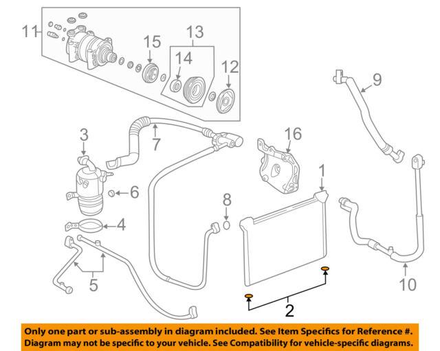 Genuine GM Condenser Insulator 15044225