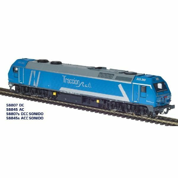 Mabar / Mehano - ref.58807 - Locomotora diesel 333.385.3 ep.VI DC Analógica