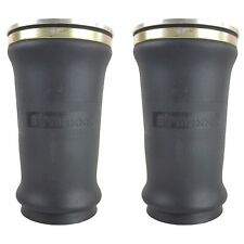 2 Tapered Sleeve Air Bags Single 14npt Port Air Ride Suspension Rolled Spring