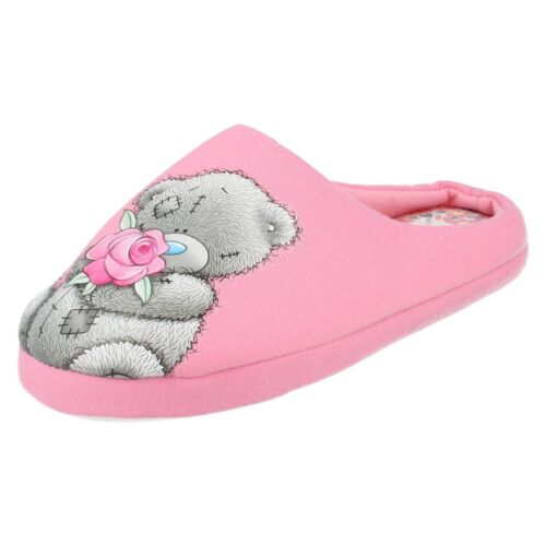 Ladies Tatty Teddy Mule Slippers Me To You