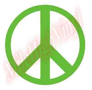 PICK-COLOR-SIZE-Peace-Sign-Symbol-Vinyl-Decal-Window-Glass-Sticker