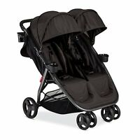 Combi 2016 Fold N Go Double Stroller In Black Brand Free Shipping