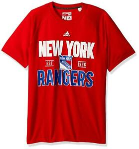 0ef75cd835 New York Rangers NHL adidas Men s L Centennial Convergence Climalite ...