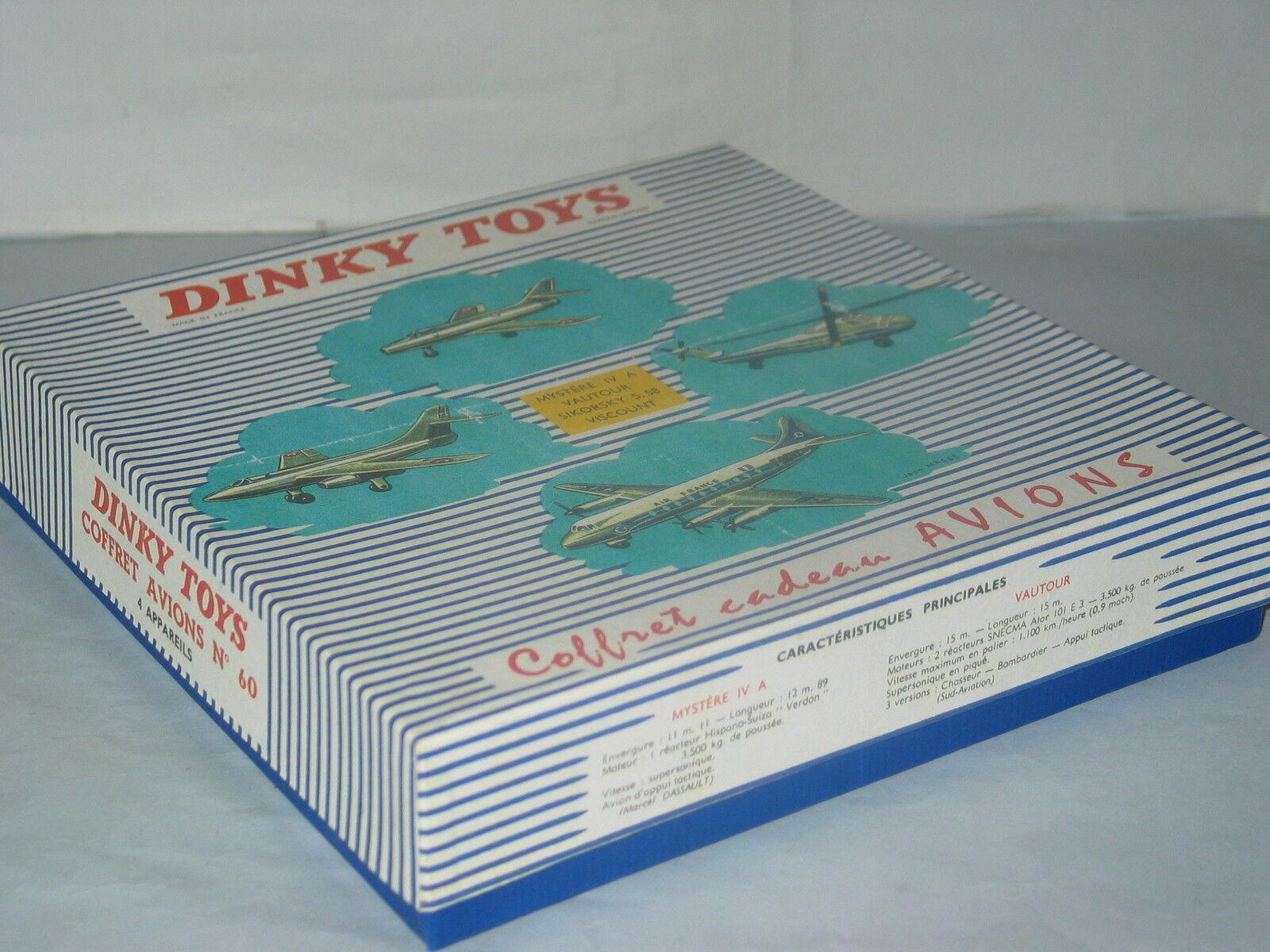 (Boite Copie Dinky Toys) 60 Coffret avions