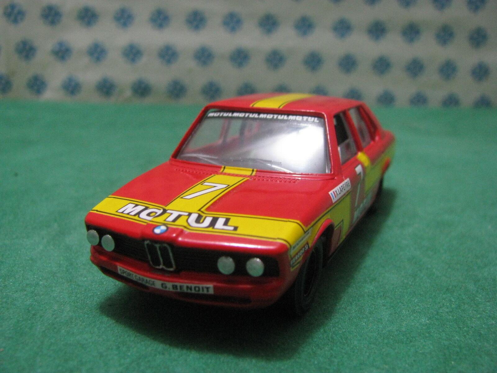 Vintage - BMW 530 Berline 3000cc. Motul - 1 43 Transkit Solide