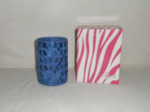 New with the Box Pink Zebra Blue Mosaic Accent Shade
