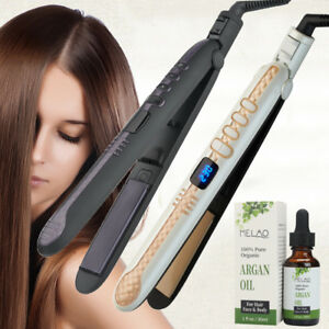 Professional Lcd Ceramic Flat Iron Hair Straightener 100