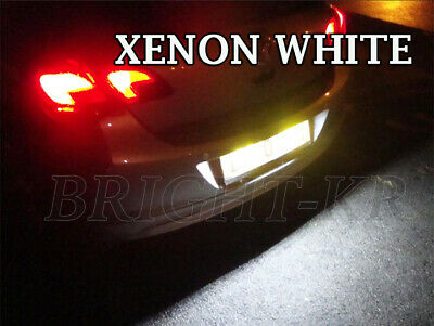 Vauxhall ASTRA H J XENON BRIGHT WHITE LED NUMBERPLATE LIGHT BULBS ERROR FREE
