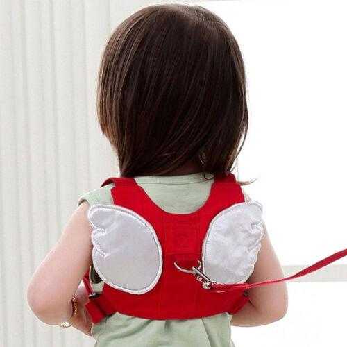 Kids Safety Leash Harness Walking Wings Belt Children Anti Lost Tether Strap UK