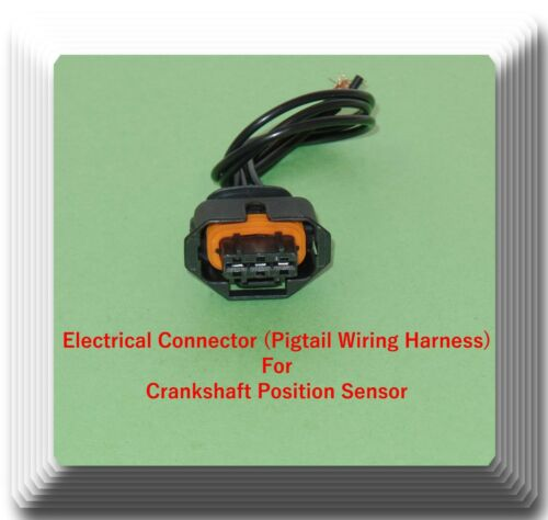 Crankshaft Position Sensor W//Connector Fits Aveo Aveo5 G3 Wave Saturn Astra